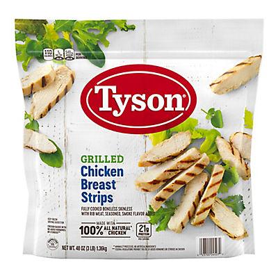 Tyson Grilled Chicken Strips, 3 lbs.