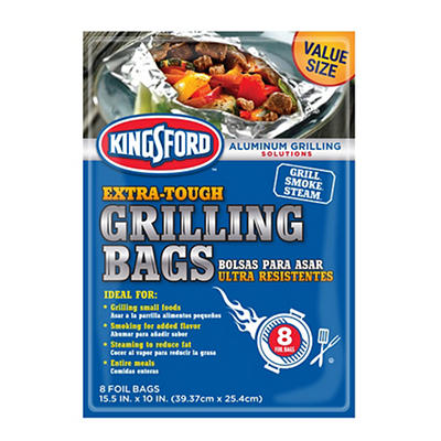 Kingsford Grill Bags, 8 ct.