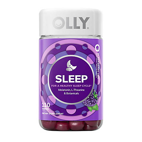 Olly Restful Sleep Gummies 110 Ct Bjs Wholesale Club