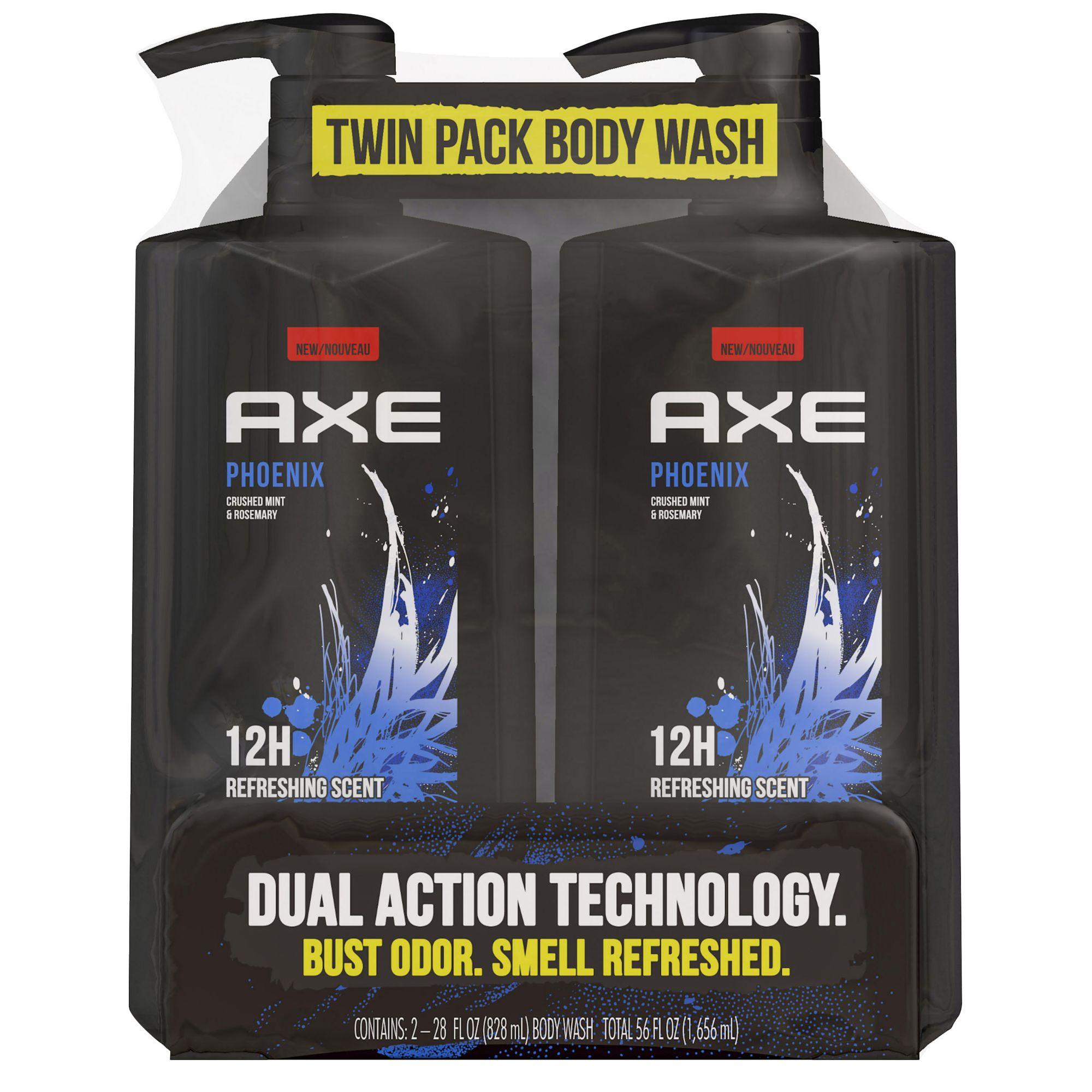 axe phoenix shower gel