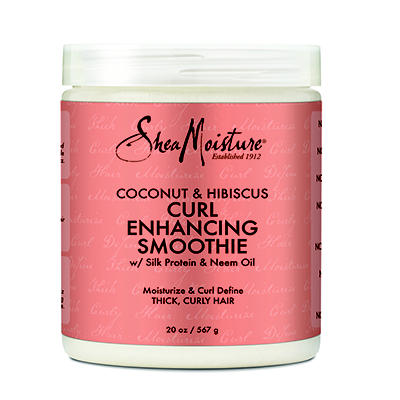 SheaMoisture Coconut and Hibiscus Curl Enhancing Smoothie, 20 oz.