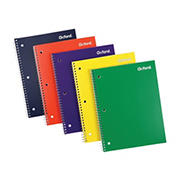 "Oxford 1-Subject Poly Cover 10.5"" x 8"" 70-Sheet College Ruled Notebooks, 10 pk."