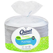 Chinet Large Eco Friendly Platter, 100 ct.