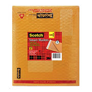 "Scotch 8.5"" x 11"" Plastic Bubble Mailers, 10 ct."
