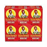 Sun-Maid Sun-Dried Raisin, 6 pk./1 oz.