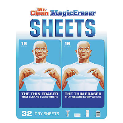 Mr. Clean Magic Eraser Disposable Cleaning Sheets, 2 pk./16 ct.