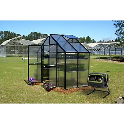 Riverstone Monticello 8' x 4' Patio Greenhouse with Bonus Maze Compost