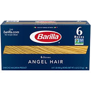 Barilla Angel Hair Thin Pasta, 6 pk./1 lb.