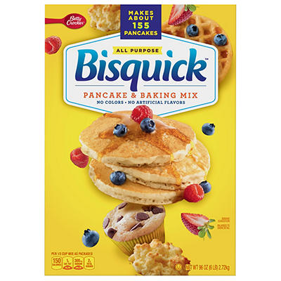 Betty Crocker Bisquick Baking and Pancake Mix, 96 oz.