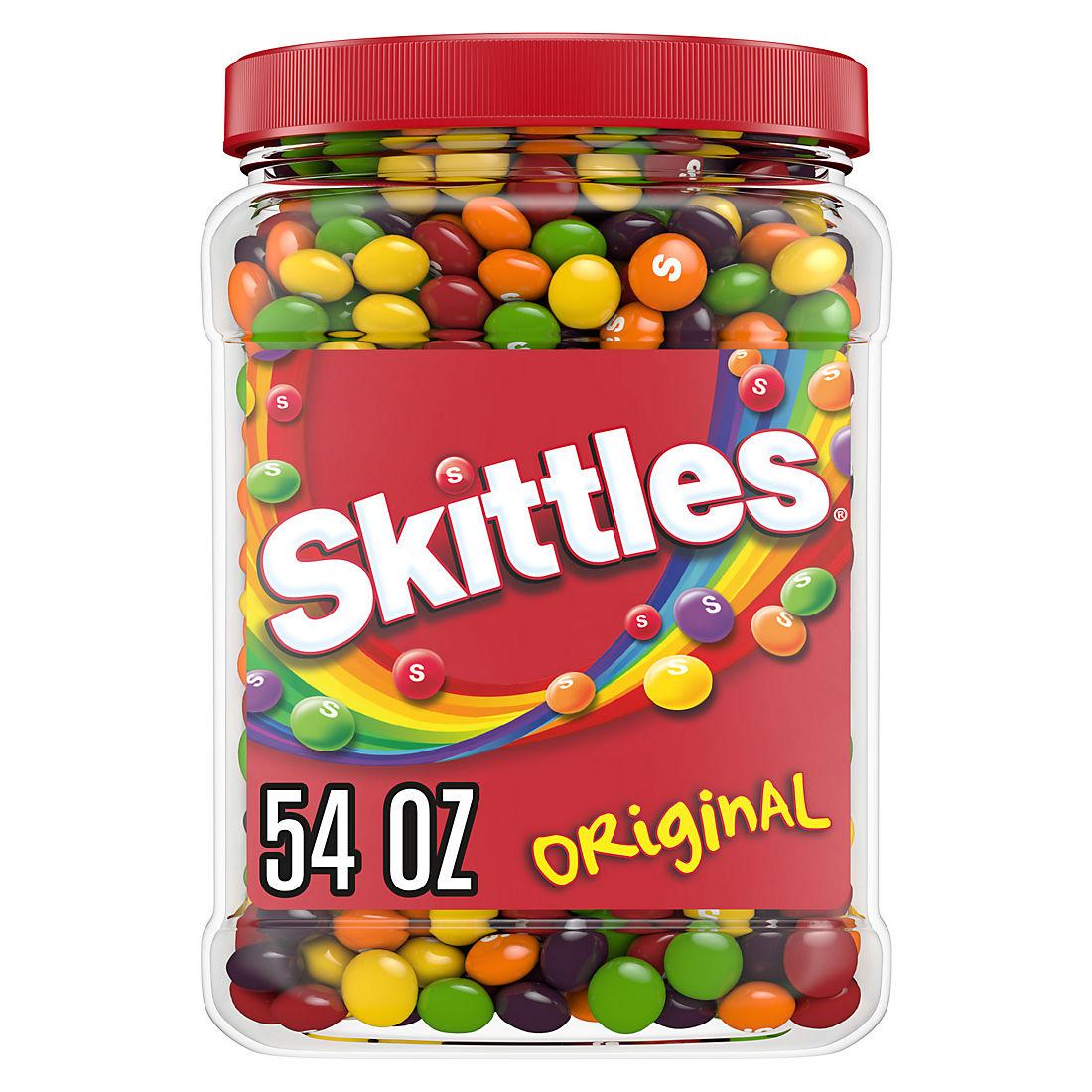 Skittles Original Fruity Candy Jar 54 Oz