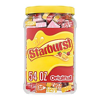 Starburst Original Fruit Chew Candy Jar, 54 oz.