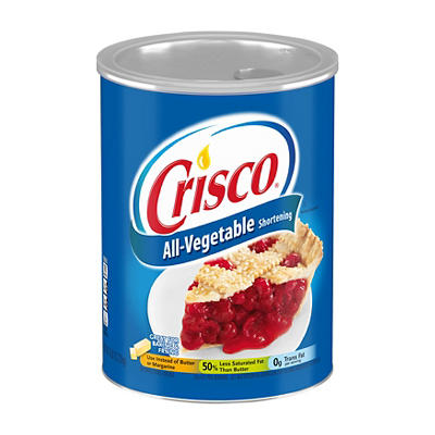Crisco All-Vegetable Shortening, 6 lbs.