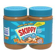 Skippy Creamy Peanut Butter, 2 pk./48 oz.