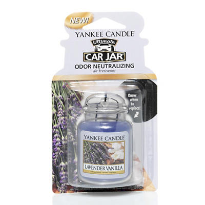 Yankee Candle Ultimate Car Jar Air Freshener - Assorted Fragrances