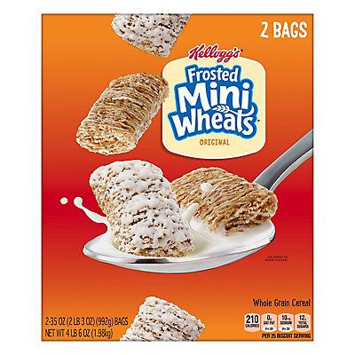Kellogg's Frosted Mini Wheats Original, 2 pk./70 oz.