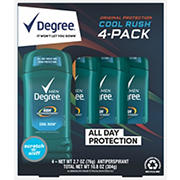 Degree Men Cool Rush Anti-Perspirant & Deodorant, 4 pk./2.7 oz.
