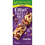 Nature Valley Fruit & Nut Trail Mix Chewy Granola Bars, 48 ct.