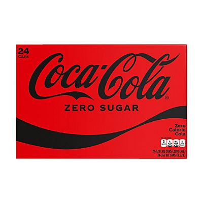 Coca-Cola Zero Sugar Cola, 24 pk./12 fl. oz cans
