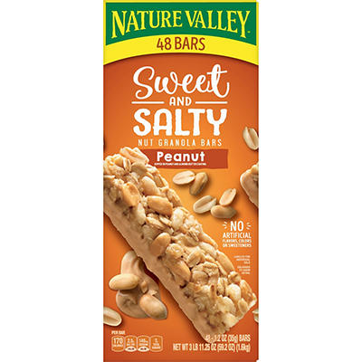 Nature Valley Sweet & Salty Peanut Granola Bars, 48 ct.