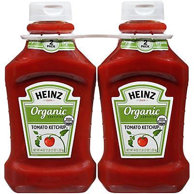 Heinz Organic Tomato Ketchup, 2 pk./44 oz.