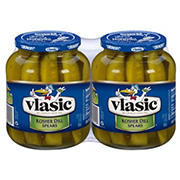 Vlasic Kosher Dill Spear Pickles, 2 pk./32 oz.