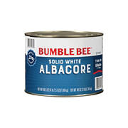 Bumble Bee Solid White Albacore Tuna in Water, 66.5 oz.