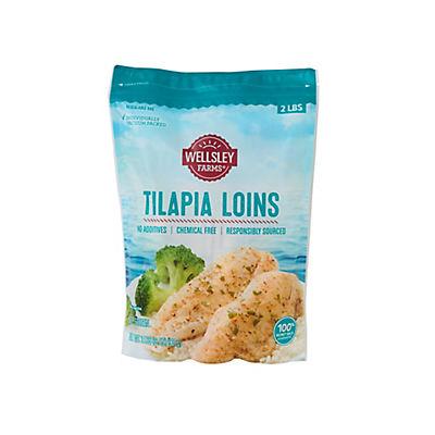 Wellsley Farms Tilapia Loins, 2 lbs.