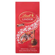 Lindt Lindor Milk Chocolate Truffles, 19 oz.