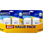 Brita Tap Replacement Filters, 4 pk.