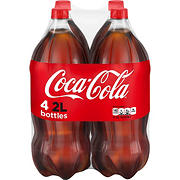 Coca-Cola Regular Soda, 4 pk./2L bottles