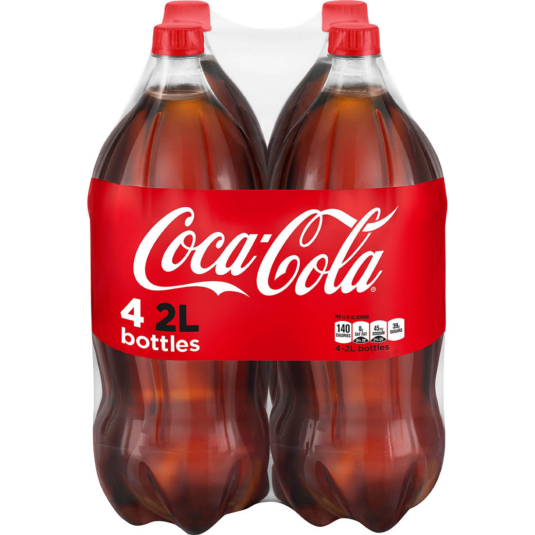 picture relating to Printable Perk a Cola Labels called Coca-Cola Every month Soda, 4 pk./2L bottles