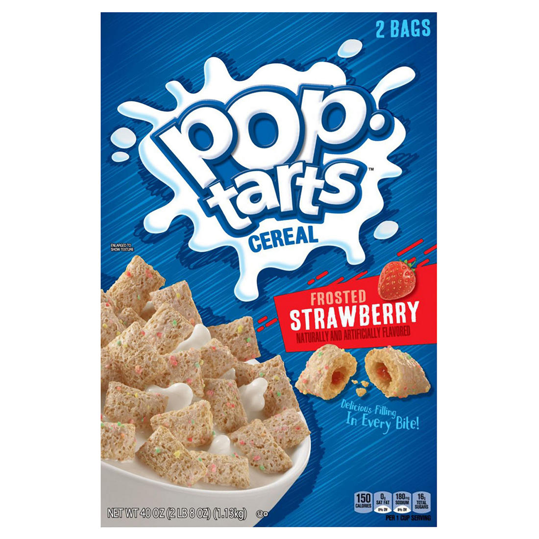 photograph regarding Pop Tarts Coupon Printable referred to as Kelloggs Pop-Tarts Frosted Strawberry Cereal, 2 pk./20 oz.