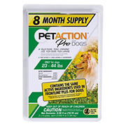 PetAction Plus for Medium Dogs, 8 Month, 8 ct./0.045 fl. oz.