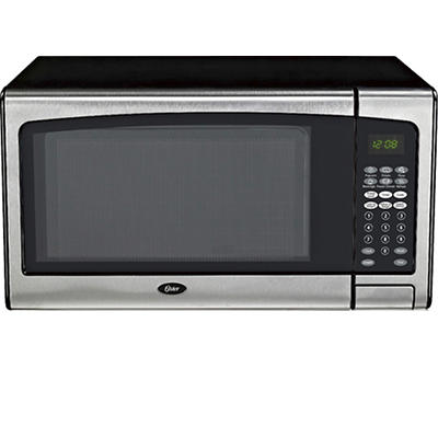 Oster 1.3-Cu.-Ft. Countertop Microwave - Stainless Steel Trim