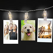 WallPops Clip String Lights - White