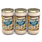 Prego Homestyle Alfredo Sauce, 3 pk./14.5 oz.