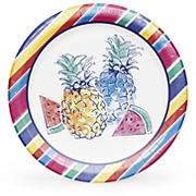 "Artstyle 10.25"" Pineapple Parade Plates, 40 ct."