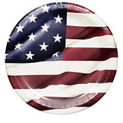 "Artstyle Proudly American 10.25"" Plate, 40 ct."