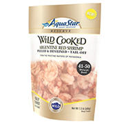 Aquastar Argentine Fully Cooked Wild Red Shrimp, 1.5 lbs.