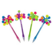 Merangue International Limited Light Up Pom Pom Pens, 6 pk.