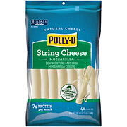 Polly-O Cheese Snackables String Mozzarella, 48 ct./1 oz.