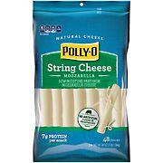 Polly-O Cheese Snackables String Mozzarella, 48 ct./1 oz.