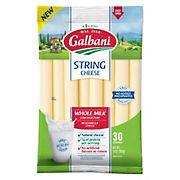 Galbani Whole Milk String Cheese, 30 ct.