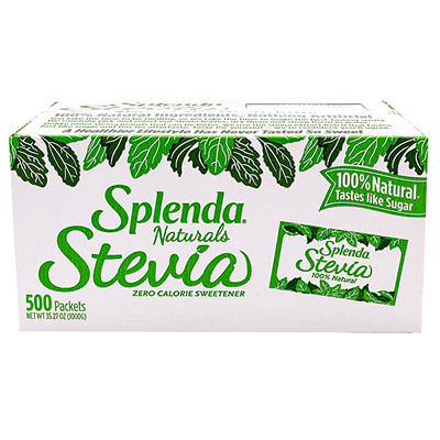 Splenda Natural Stevia Zero Calorie Sweetener, 500 ct.