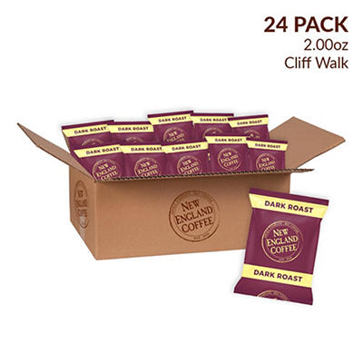 New England Coffee Cliff Walk Individual Packs, 24 pk./2 oz.