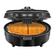 Chefman Anti-Overflow Belgian Waffle Maker with Nonstick Plates - Black