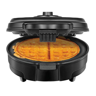 Chefman Anti-Overflow Belgian Waffle Maker with Nonstick Plates - Blac