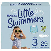 Huggies Little Swimmers Disposable Swimpants, Up to Size 3, 29 ct.