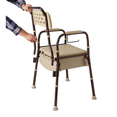 Medline Bedside Commode with Microban