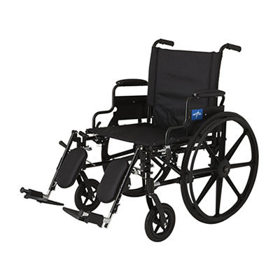 Medline K4 Extra Wide Lightweight Wheelchair